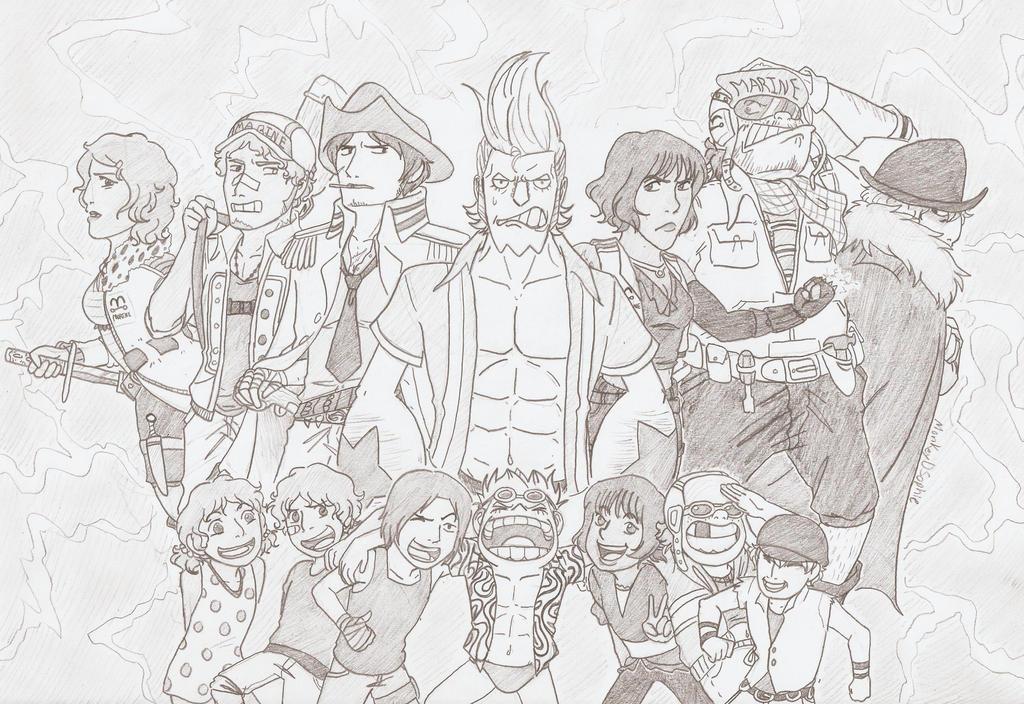 Dream Team by MonkeyDSophie