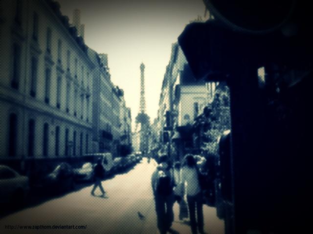 quartier de Paris by LEZARD-GRAPHIQUE