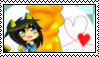 Mitsuki x Stephano stamp by CommanderMitsuki