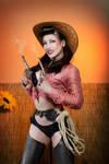Comtesse Lea pin up cowgirl