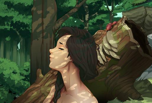 Mirya in the Woods
