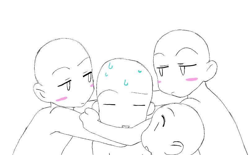 Anime Bases Couples Hugging | www.imgkid.com - The Image ...