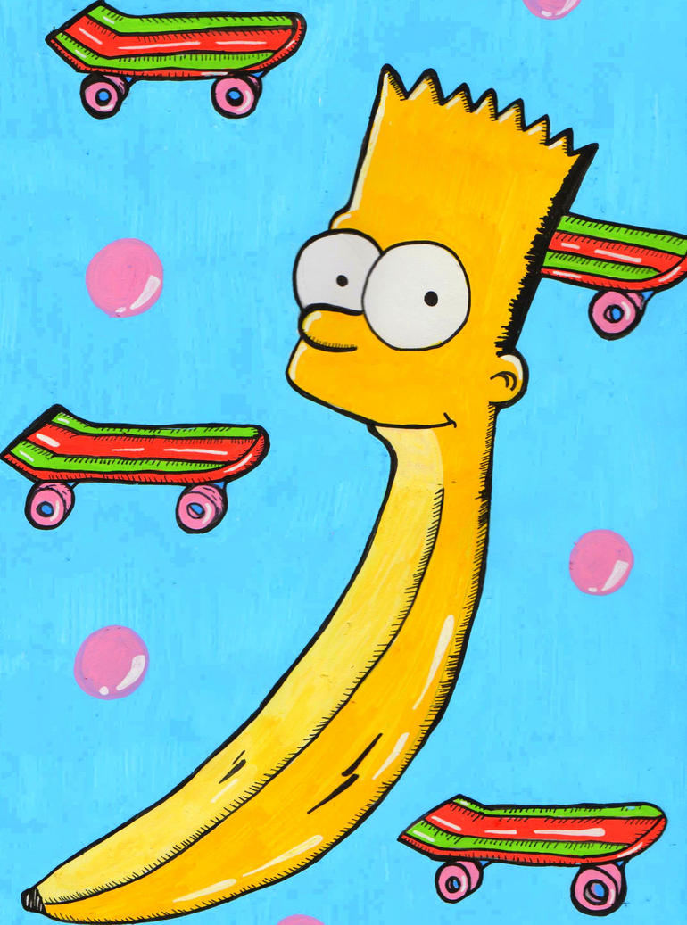 Banana Bart by AnalieKate