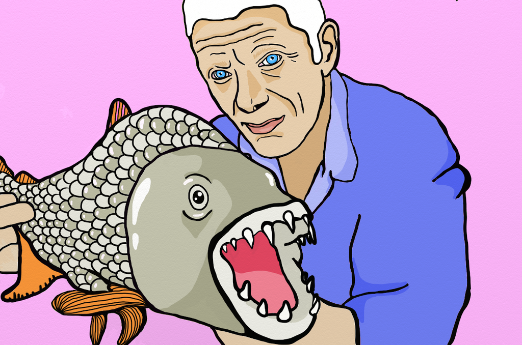 Jeremy Wade : RIVER MONSTERS by AnalieKate