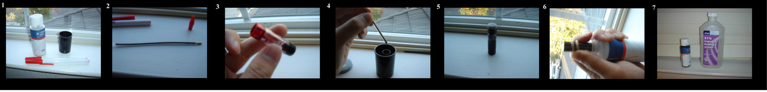 How to make ink by Sohte