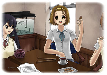 Ritsu Colored by Tobsen85