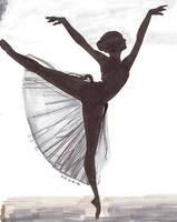 ballerina by iLikeArt-yo