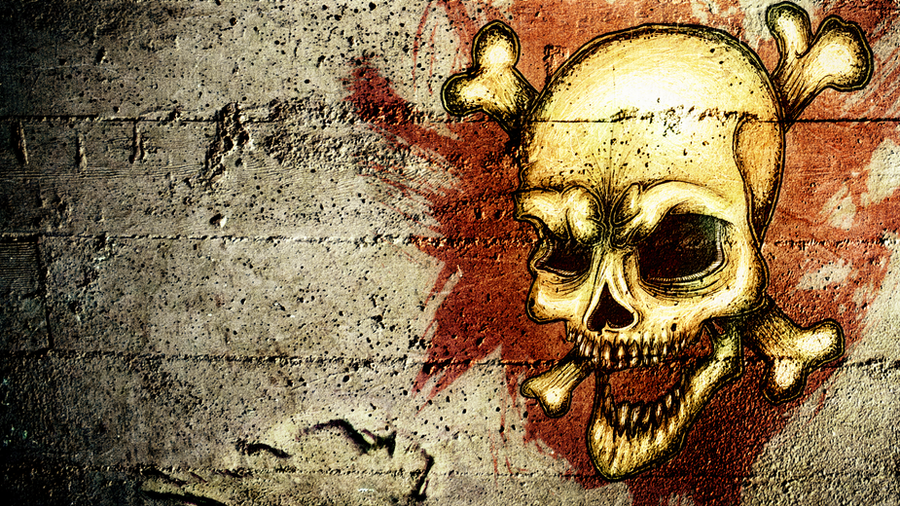 Hd Grunge Skull Wallpaper By Prmvil