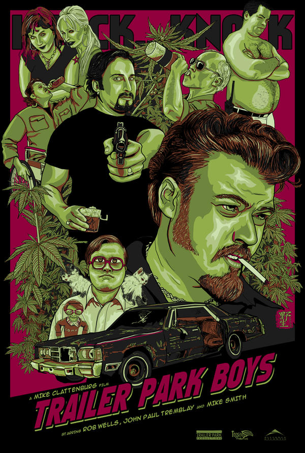 Trailer Park Boys by wild7even