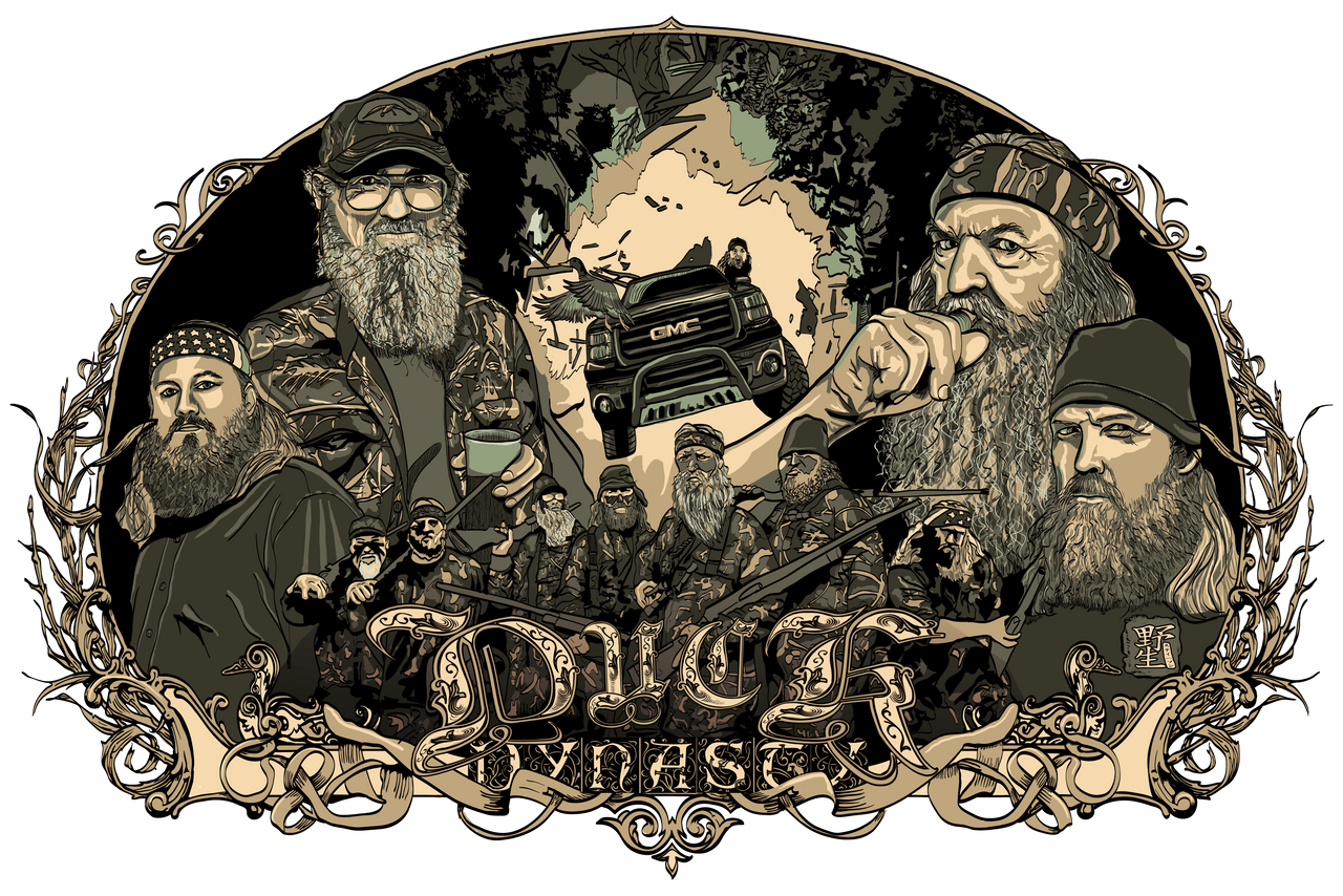 camo duck commander logo wallpaper