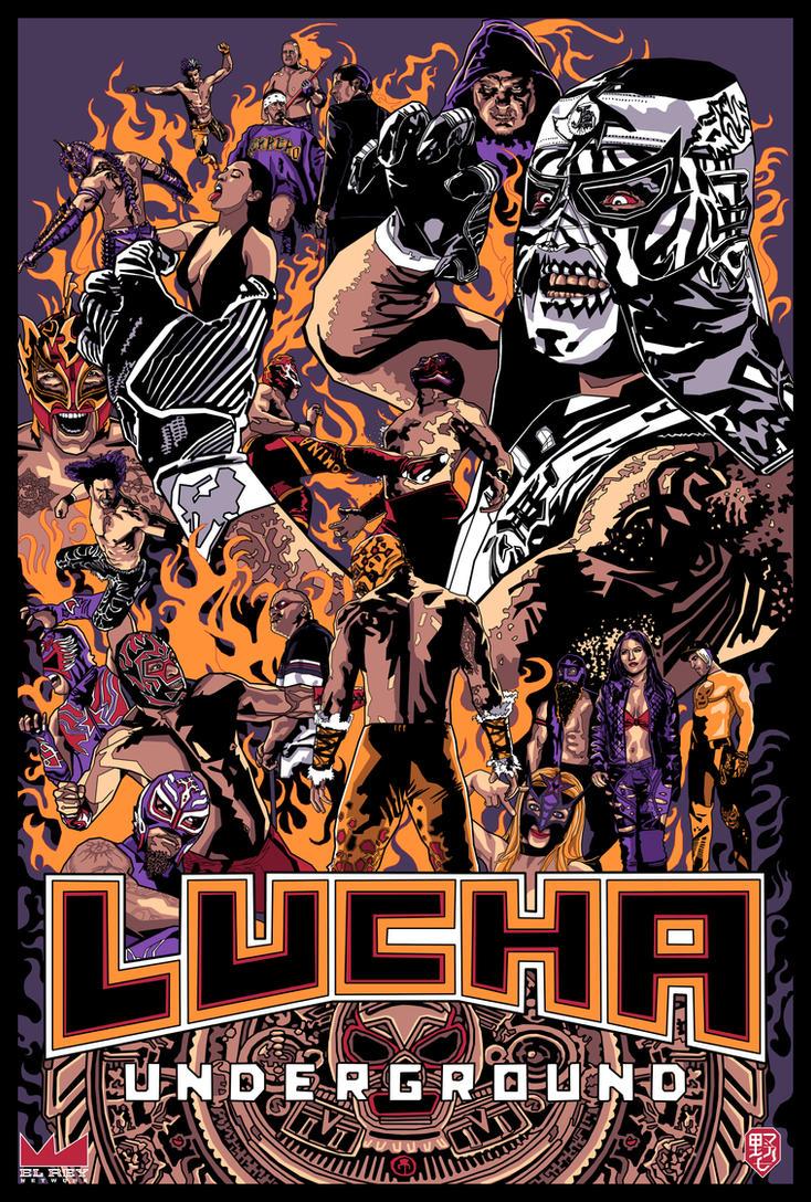 Lucha Underground by wild7even