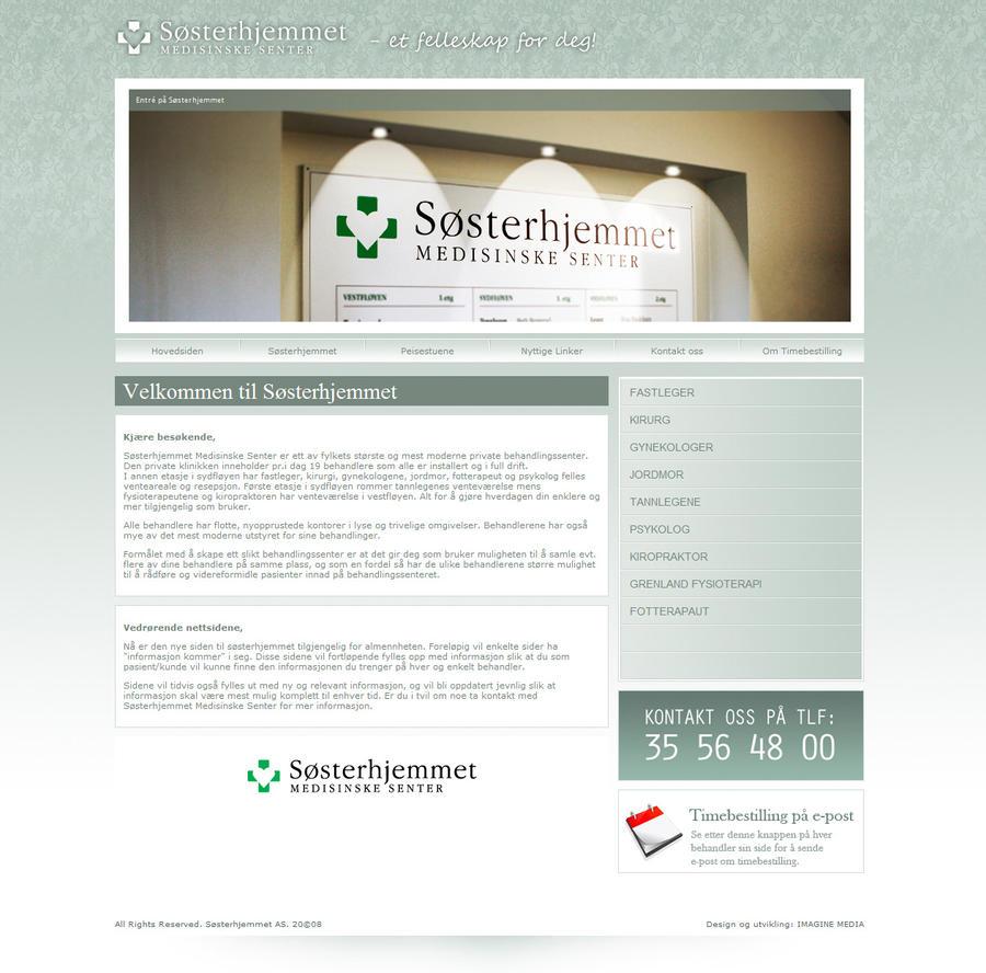 Clean Medical WebPortal by fridgeno