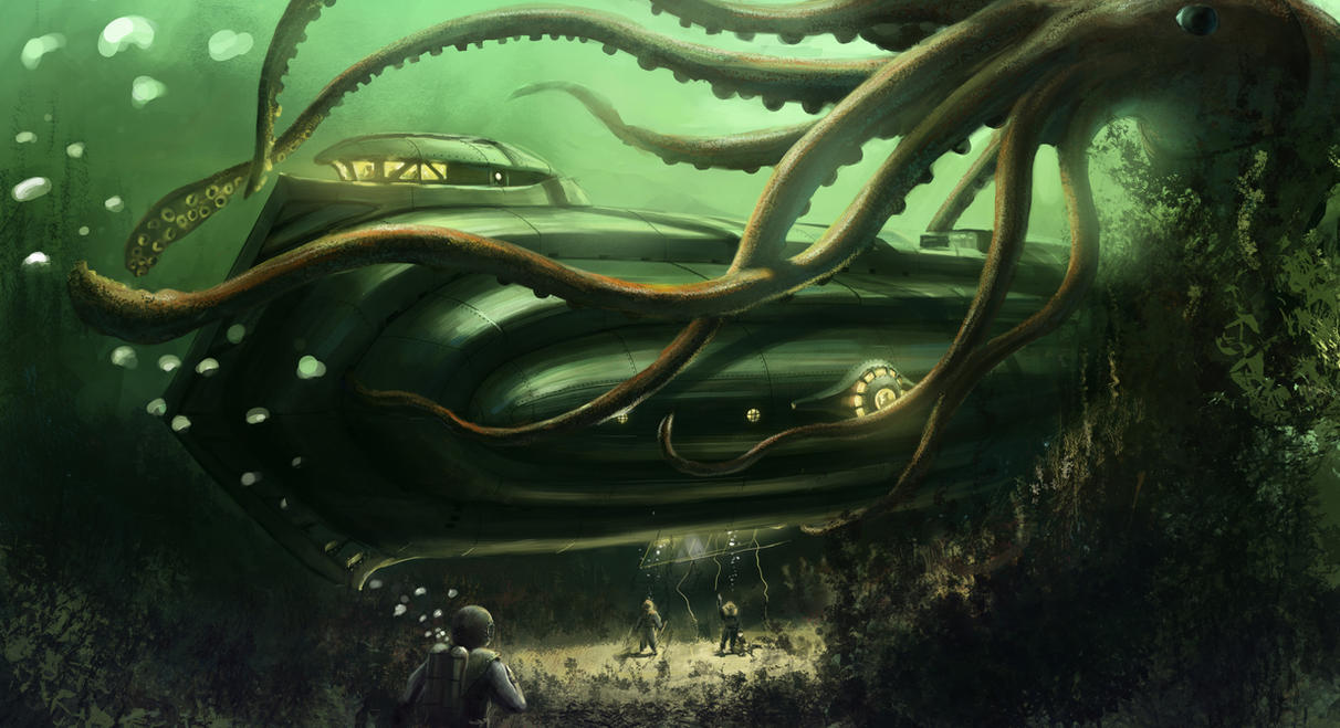 20,000 Leagues Under the Sea by J-Humphries