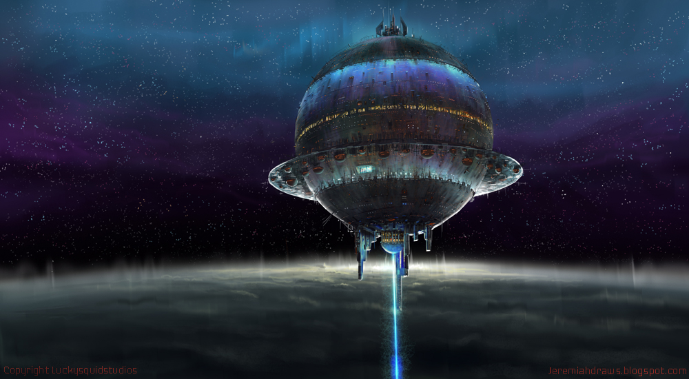 Space Station by J-Humphries on DeviantArt