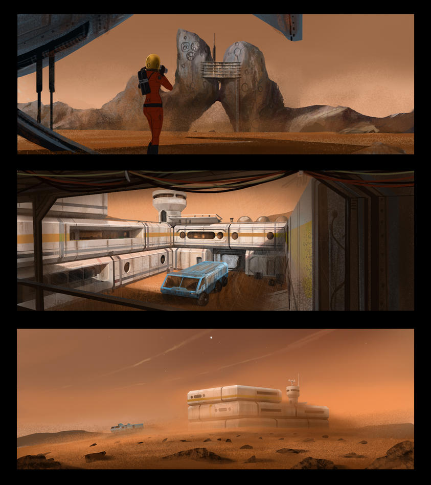 Mars Concepts by J-Humphries
