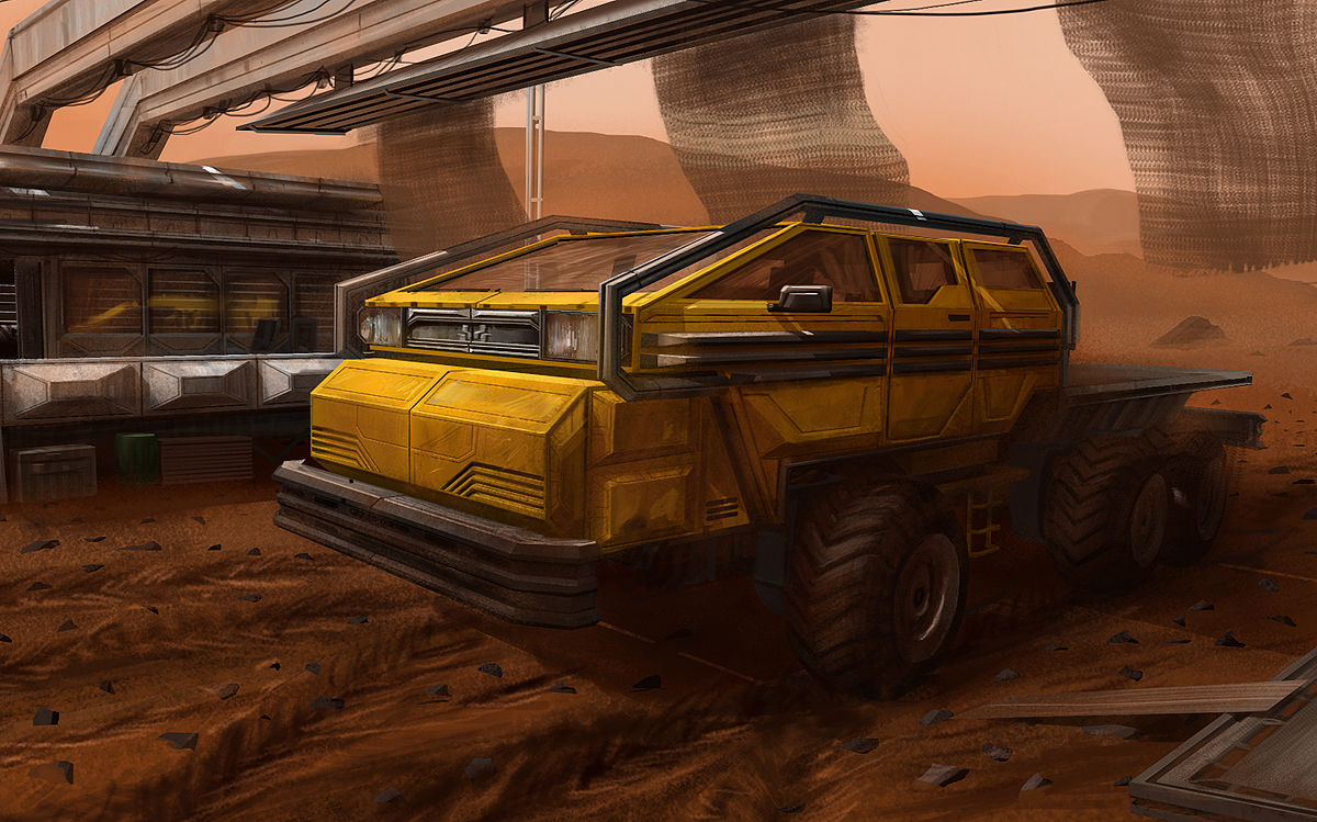 Mars Truck! by J-Humphries