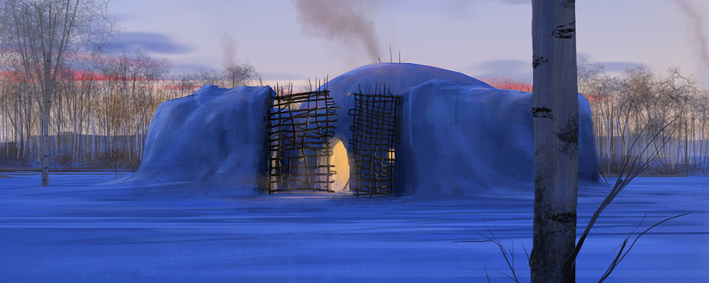 Taiga Dwelling by J-Humphries