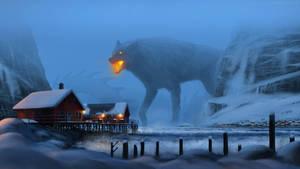 Fenris Wolf by J-Humphries