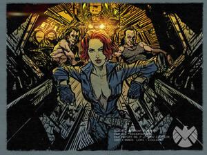 Natasha Romanoff Secret Lovers: Nat-King-Coulson