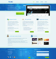 Webdesign company layout by Robke22