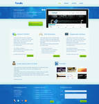 Webdesign company layout