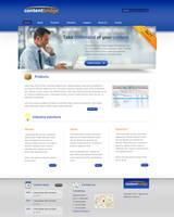 Corporate web layout 2 by Robke22
