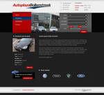 Car dealer business layout