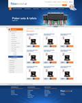 Webshop layout - Poker