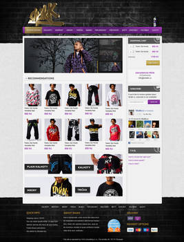Hiphop Store layout