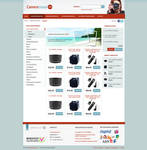 Photography Webshop Layout