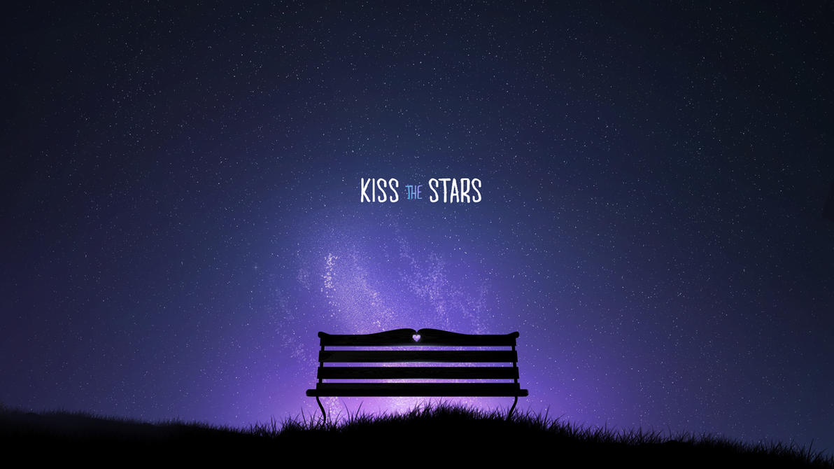 Kiss The Stars Wallpaper by Robke22