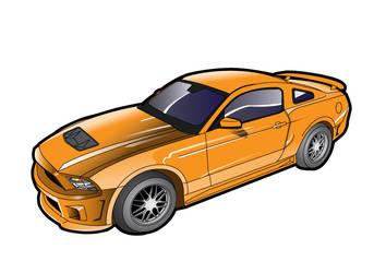 ford Shellby GT Car