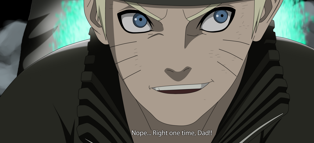 Naruto 630: Dad!! by Fanklor