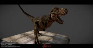 Tyrannosaurus (T. rex) 3D model by vrt02