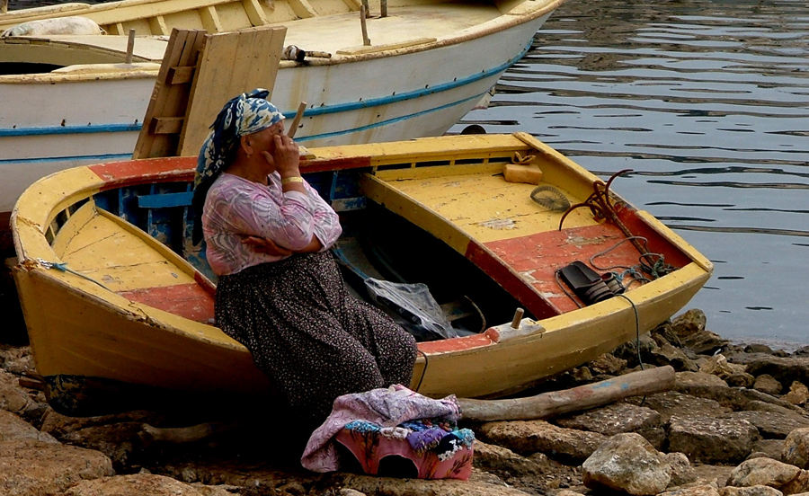Resting in Simena by faather