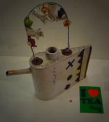 Raku teapot by faather
