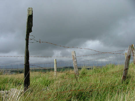 Princetown fence
