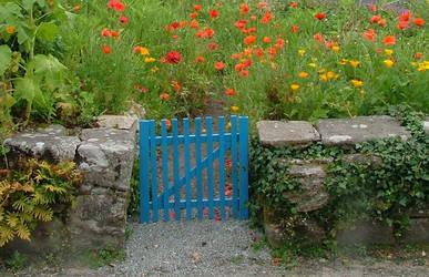 gate bleu