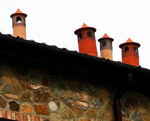 Tuscan chimneys