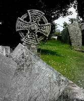 Knot Blissland Churchyard by faather