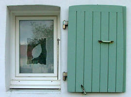 window and shutter by faather