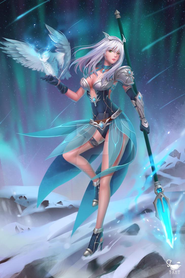 Snow Princess by toorugenshin