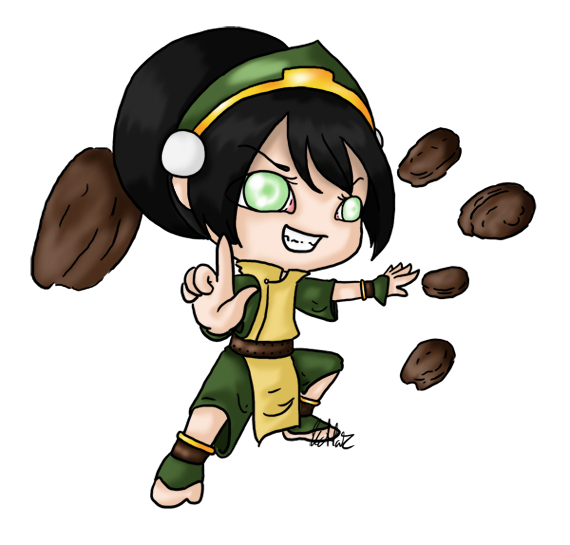 The Last Airbender Movie Appa: Chibi Toph By Katta2 On DeviantArt