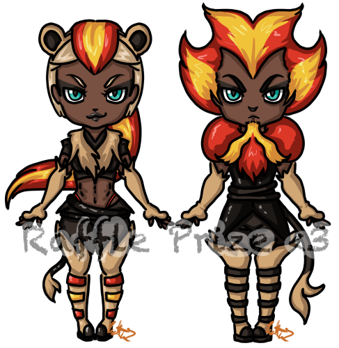 Raffle adopt - Pokemon Gijinka -  #669 by Katta2