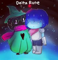 DeltaRune: Kris and Ralsei by coolgirlfactor