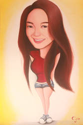 Caricature by Chyn000