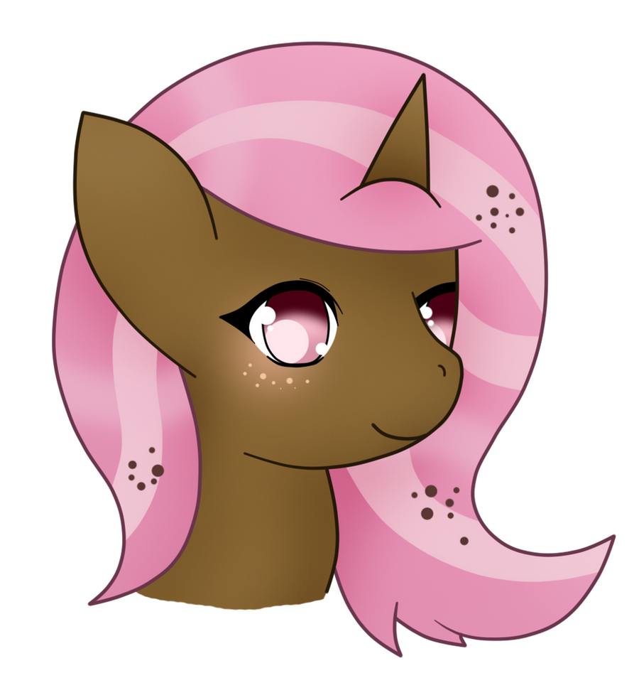 .:CM 2/4:. Mocha headshot by eclipsesongs