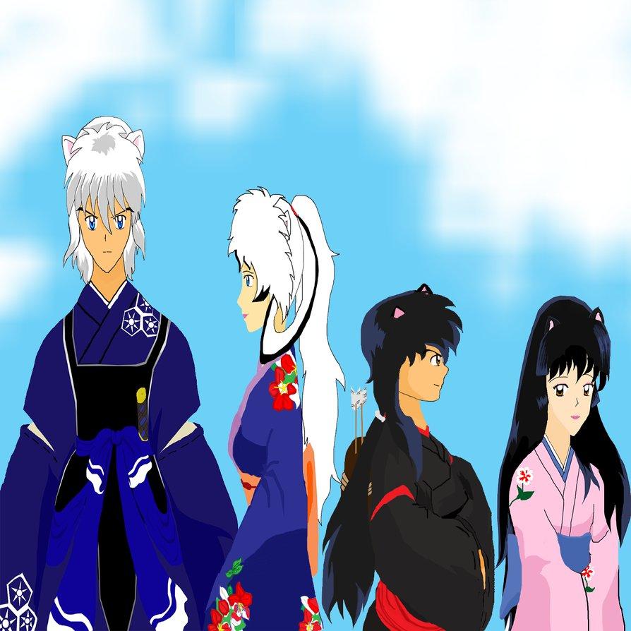 Inuyasha And Kagome's Children By FallenFan77 On DeviantArt