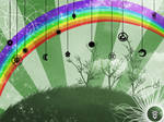::Rainbow Room Wallpaper::