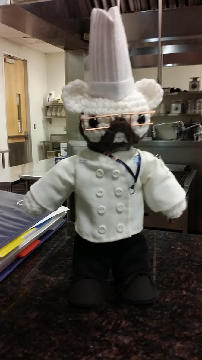 Chef DeRosa Bear by taria